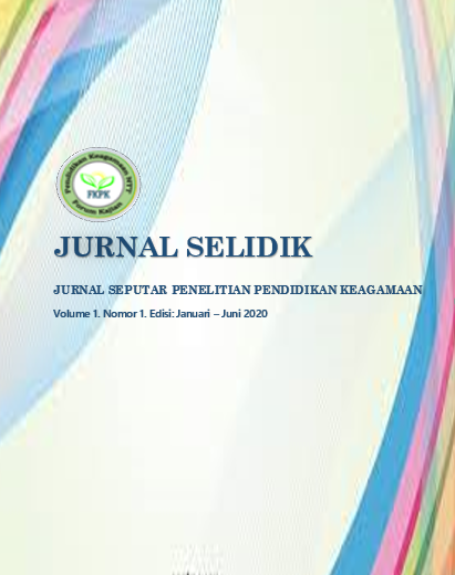 View Vol. 1 No. 1 (2020): Edisi: Januari - Juni 2020