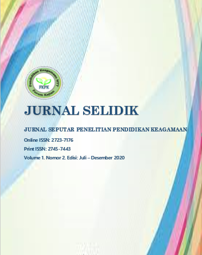View Vol. 1 No. 2 (2020): Edisi: Juli - Desember 2020